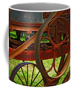 Coffee Mug featuring the photograph Wheels Of Time by Rowana Ray