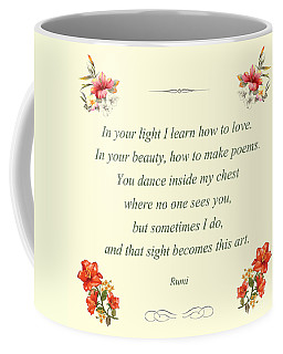 60- Rumi Coffee Mug