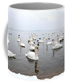 60 Swans A Swimming Coffee Mug