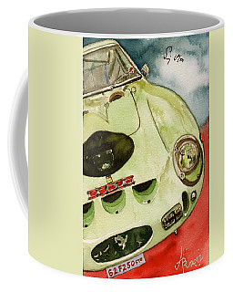 62 Ferrari 250 Gto Signed By Sir Stirling Moss Coffee Mug