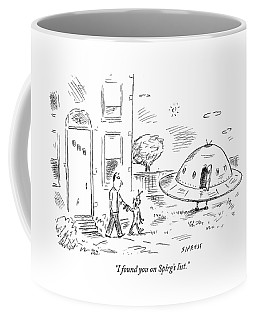 I Found You On Splrg's List Coffee Mug