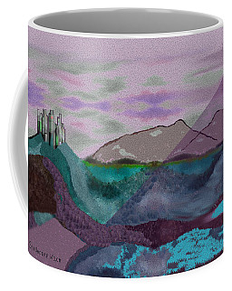 633 - A Dark Stormy Day   Coffee Mug
