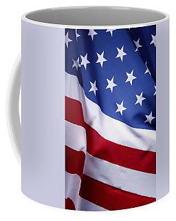 American Flag 50 Coffee Mug