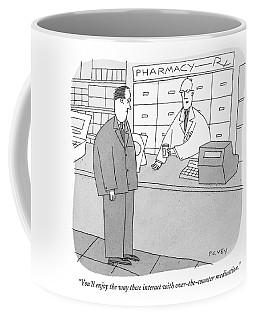 You'll Enjoy The Way These Interact Coffee Mug