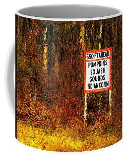 Coffee Mug featuring the digital art 650 Ft. Ahead by David Blank