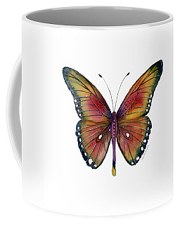 66 Spotted Wing Butterfly Coffee Mug