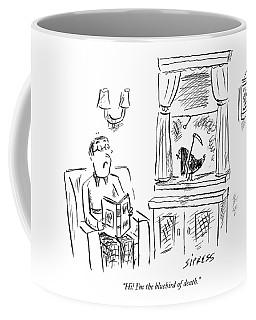 Hi! I'm The Bluebird Of Death Coffee Mug