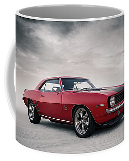 Coffee Mug featuring the digital art 69 Camaro by Douglas Pittman
