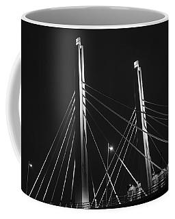 6th Street Bridge Black And White Coffee Mug