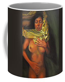 Coffee Mug featuring the painting 7 30 A.m. by Thu Nguyen