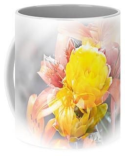 Coffee Mug featuring the photograph Flower Burst by Gunter Nezhoda
