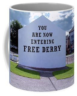 Free Derry Corner 4 Coffee Mug