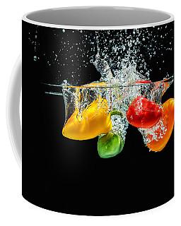 Splashing Paprika Coffee Mug