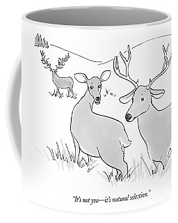It's Not You - It's Natural Selection Coffee Mug