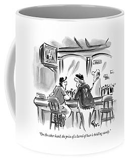 On The Other Hand Coffee Mug