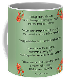 75- Ralph Waldo Emerson Coffee Mug
