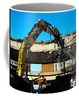 Coffee Mug featuring the digital art 794 Teardown 2014 by David Blank