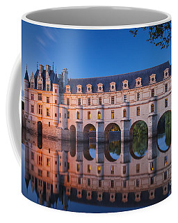 Coffee Mug featuring the photograph Chateau Chenonceau by Brian Jannsen