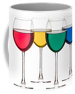 Colorful Drinks Coffee Mug by Peter Lakomy