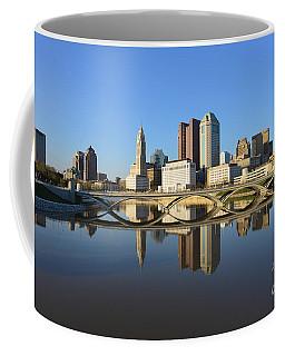 Fx1l-1058 Columbus Ohio Skyline Photo Coffee Mug