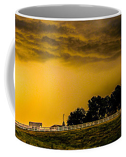 Late Afternoon Nebraska Thunderstorms Coffee Mug