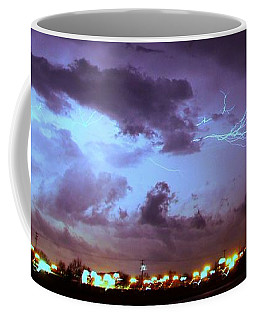 Coffee Mug featuring the photograph Our 1st Severe Thunderstorms In South Central Nebraska by NebraskaSC