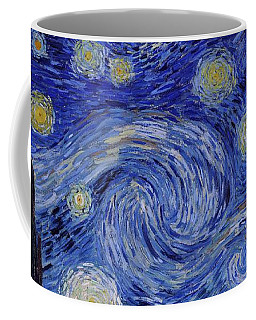 Starry Night Coffee Mug by Vincent Van Gogh
