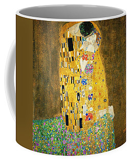 The Kiss Coffee Mug by Gustav Klimt