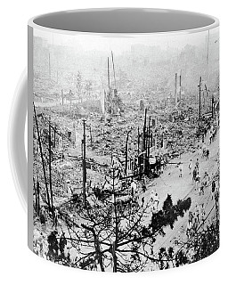 Coffee Mug featuring the photograph Tokyo Earthquake, 1923 by Granger