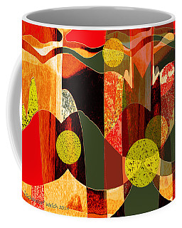 807 - Walk Through The Autumn Forest Coffee Mug