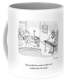 Trust Me, Brad, Those Comedy Sound Effects Aren't Coffee Mug
