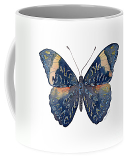 89 Red Cracker Butterfly Coffee Mug
