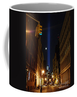 9-11-2013 Nyc Coffee Mug by Jean luc Comperat