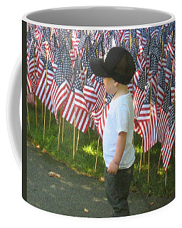 9 /11s New Generation Coffee Mug by Bruce Carpenter