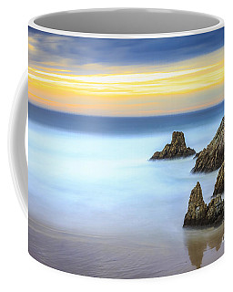 Campelo Beach Galicia Spain Coffee Mug by Pablo Avanzini