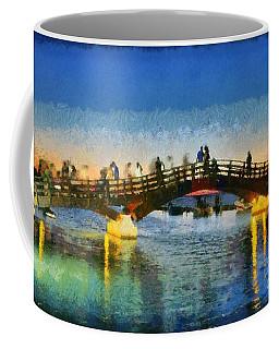 Sunset In Lefkada Town Coffee Mug