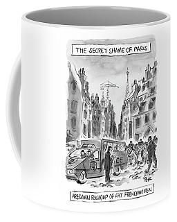 The Secret Shame Of Paris Coffee Mug