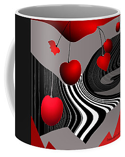997 -   Deco Cherry     Coffee Mug