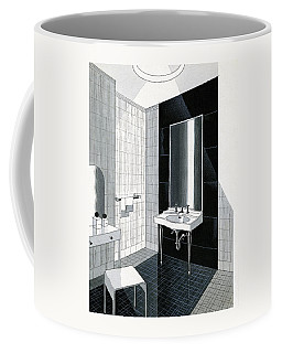 A Bathroom For Kohler By Ely Jaques Kahn Coffee Mug