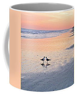 A Beach Romance Coffee Mug