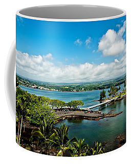 A Beautiful Day Over Hilo Bay Coffee Mug by Christopher Holmes