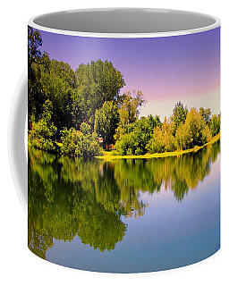 A Beautiful Day Reflected Coffee Mug