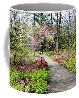 A Beautiful Spring Walk Coffee Mug by Trina  Ansel