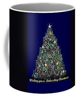 A Bedazzling Christmas Coffee Mug