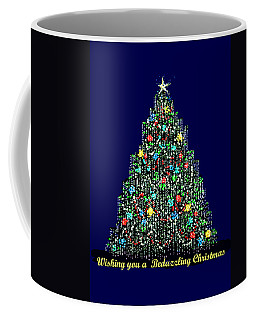 A Bedazzling Christmas Coffee Mug