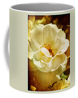 A Bee And Rose Coffee Mug