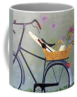 A Bicycle Break Coffee Mug