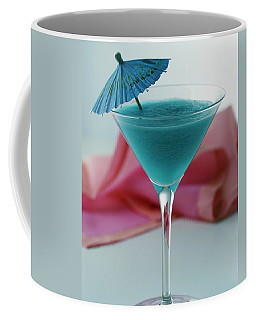 A Blue Hawaiian Cocktail Coffee Mug