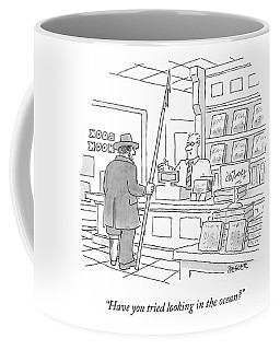 A Bookstore Clerk Speaks To Captain Ahab Coffee Mug