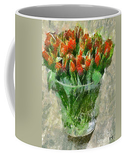 A Bouquet Of Tulips Coffee Mug
